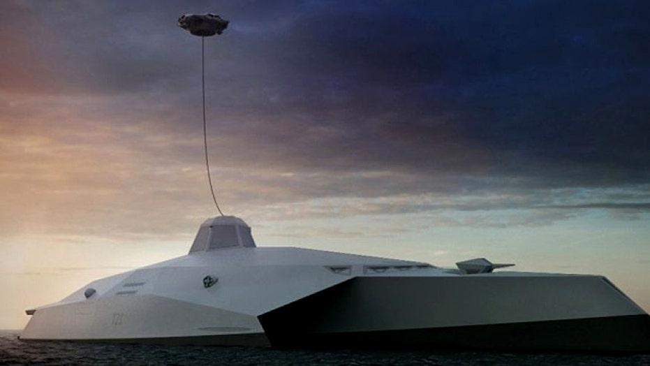 War Games: What will warships look like in thirty years?