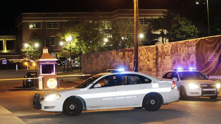 One dead, three hurt in shooting at Tennessee college