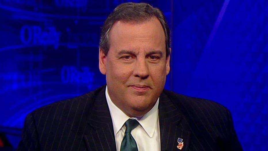 Chris Christie reacts to Hillary Clinton's testimony