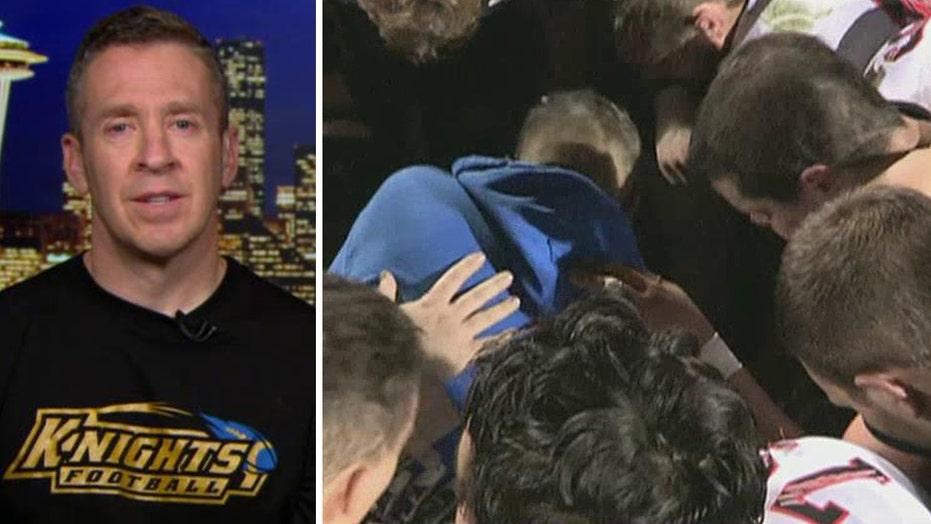 Football coach filing lawsuit against school's prayer ban