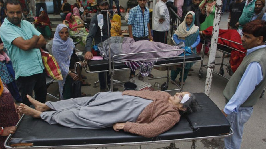 7.5 magnitude earthquake rocks Afghanistan, Pakistan, India