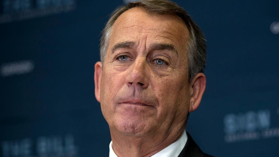 Can John Boehner clean the plate for his successor?