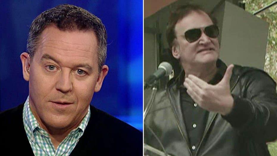 Gutfeld: Tarantino living in a fantasy world of policing