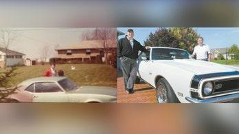 Ohio family reunited with 1968 Chevrolet Camaro stolen 34 years ago