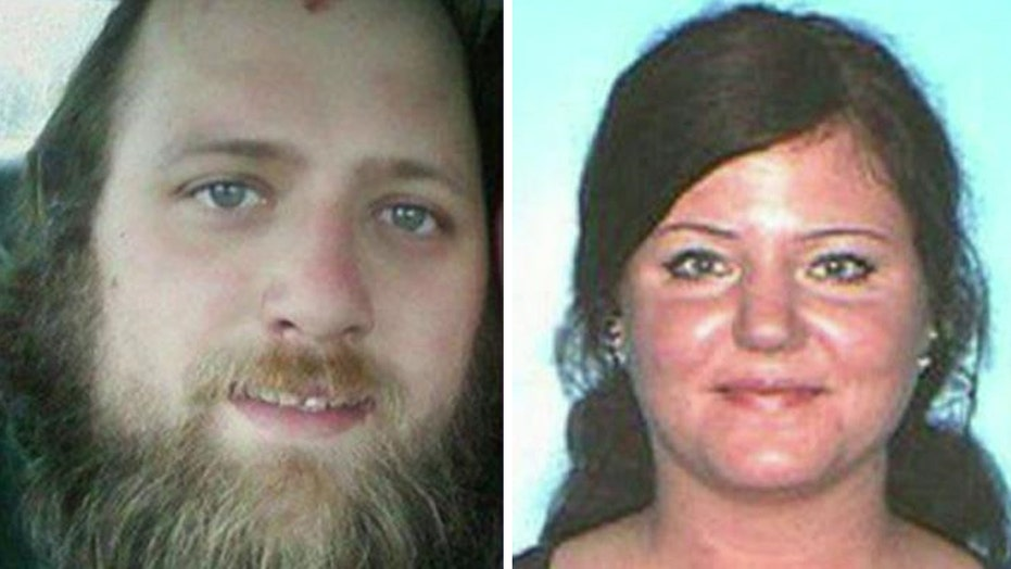 Modern day Bonnie and Clyde arrested after wild police chase