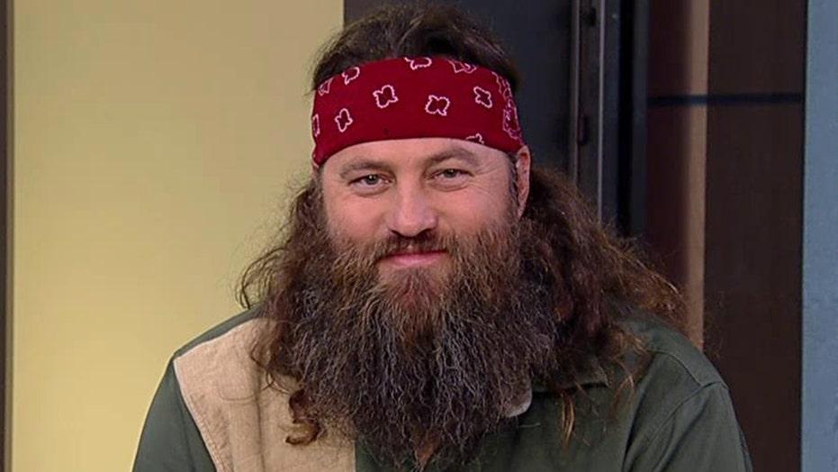 Willie Robertson talks beard secrets, new family books