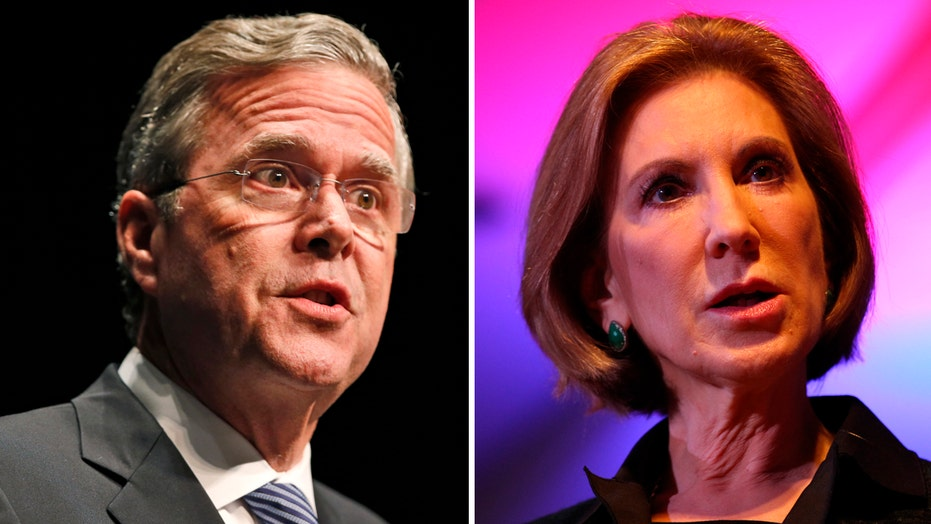 Stakes are high for Bush, Fiorina