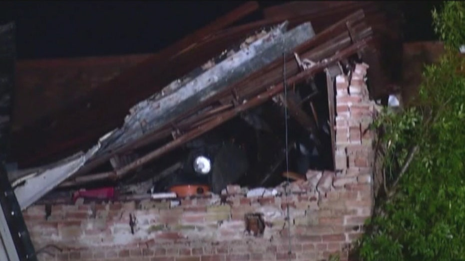 Possible tornadoes rip through parts of Texas
