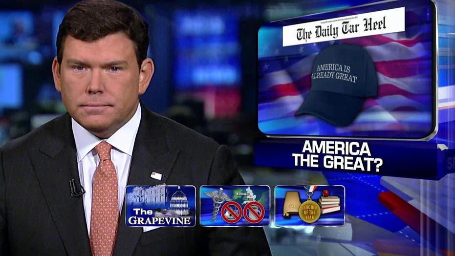 Grapevine: Calling America 'great' is not a great idea?