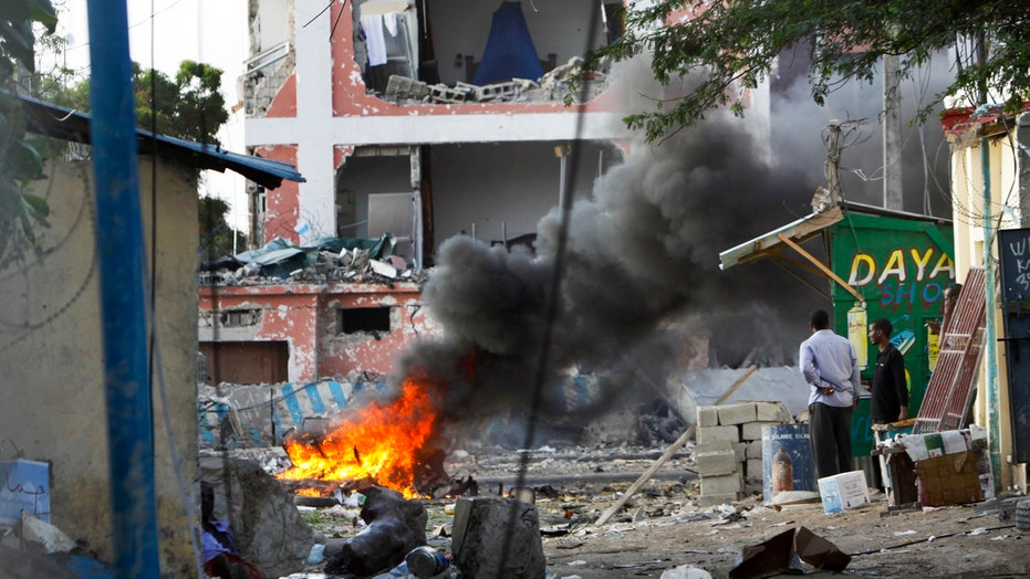 Report: At least 6 killed in Somalia hotel attack