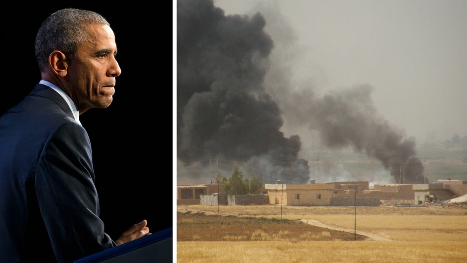 What pushed POTUS to send troops to Syria now?