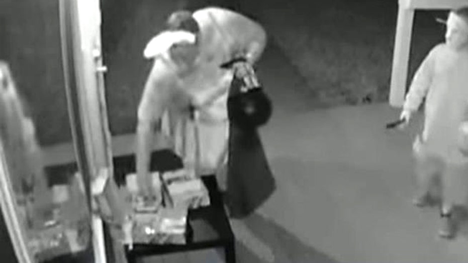 Grown woman caught on camera stealing candy meant for kids