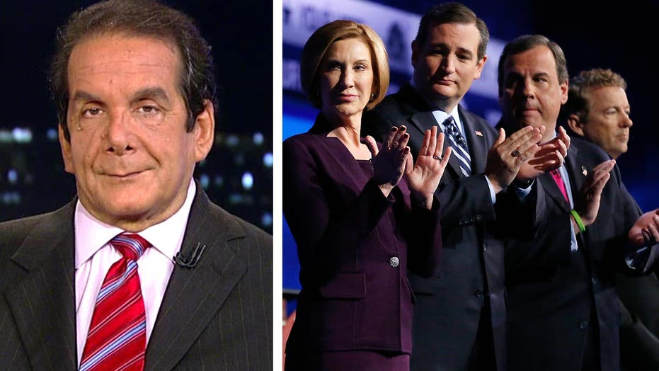 Krauthammer: 'Quit while they're ahead'