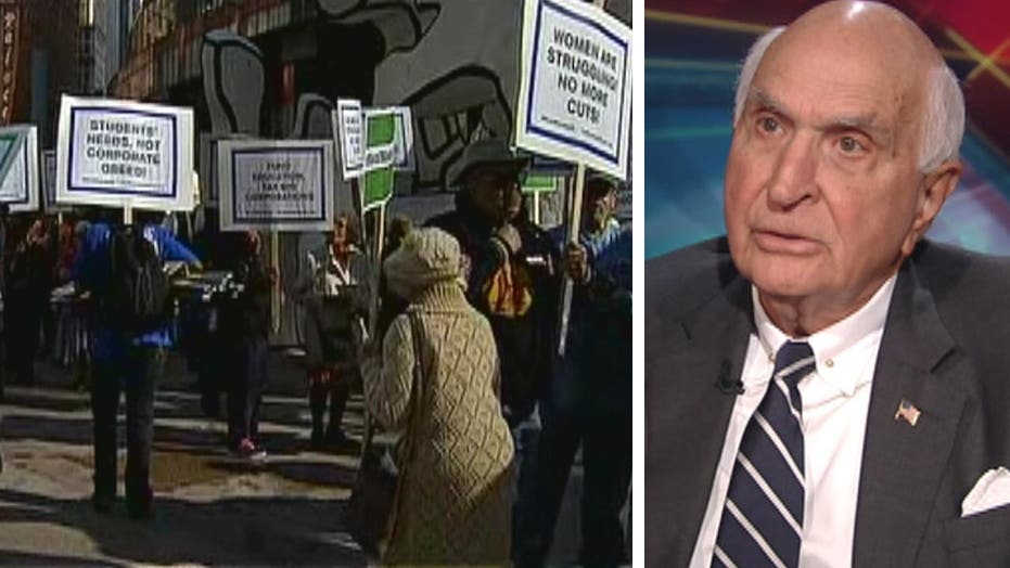 Ken Langone on protests against the rich