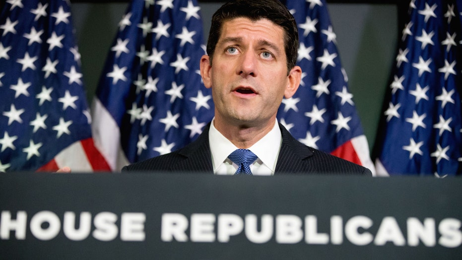 Paul Ryan holds first new conference since becoming Speaker