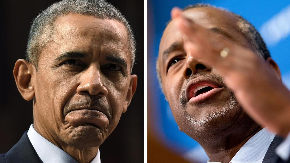 Carson fires back at Obama as he gains big in the polls