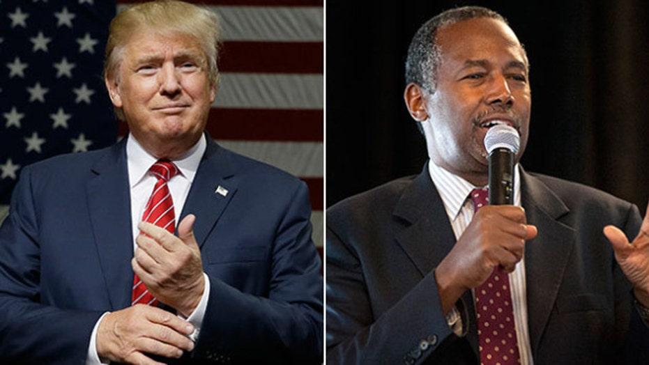Trump slams Carson as rival surges in new poll