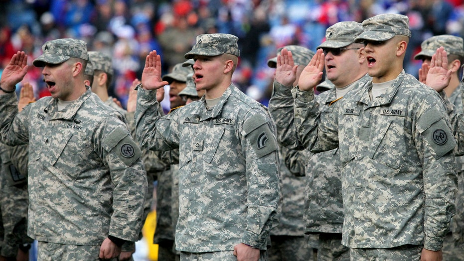 Should Congress ban pay for patriotism at sporting events?