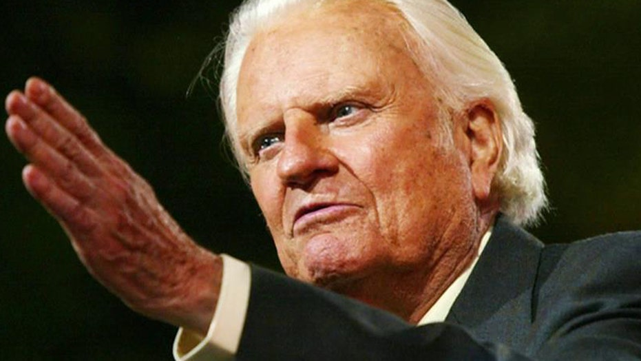 Billy Graham releases new book ahead of 97th birthday