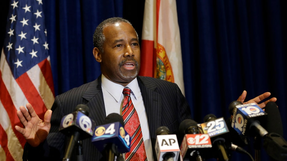 Dr. Ben Carson confronts the media