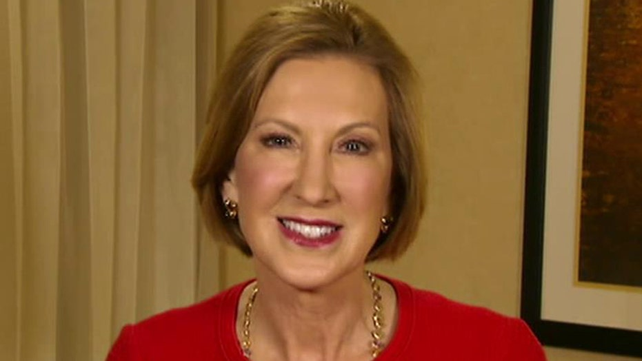 How would Carly Fiorina create more jobs?