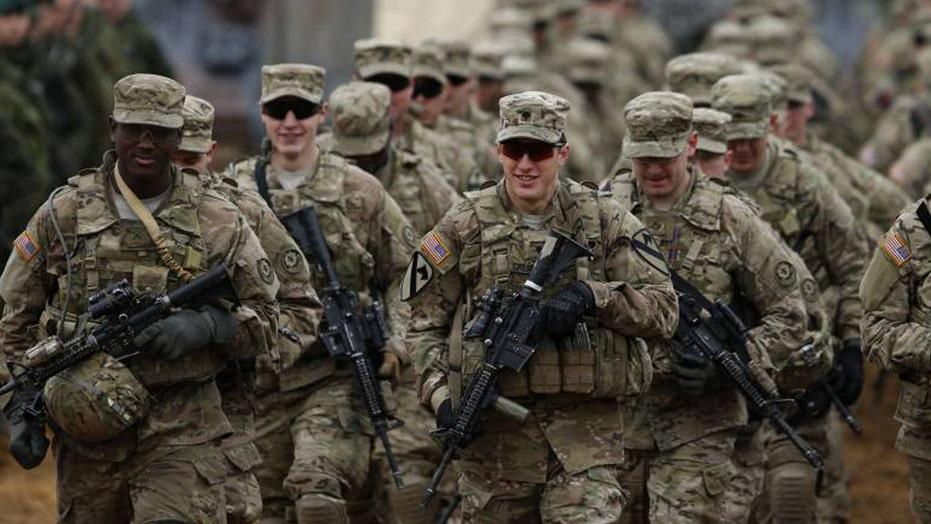 US considers troop buildup in Europe to deter Russia