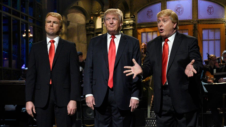 Donald Trump talks hosting 'SNL,' immigration battle, polls