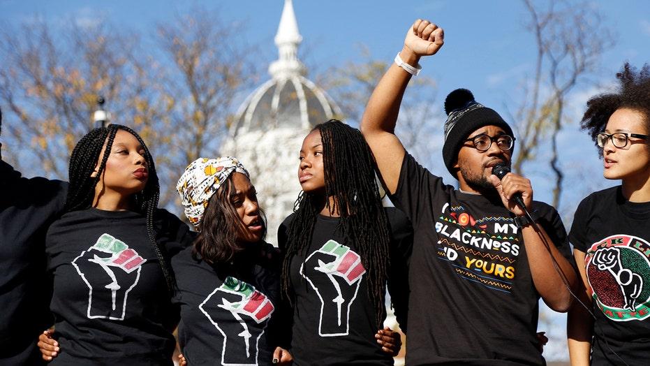 Univ. of Missouri students react to president's resignation