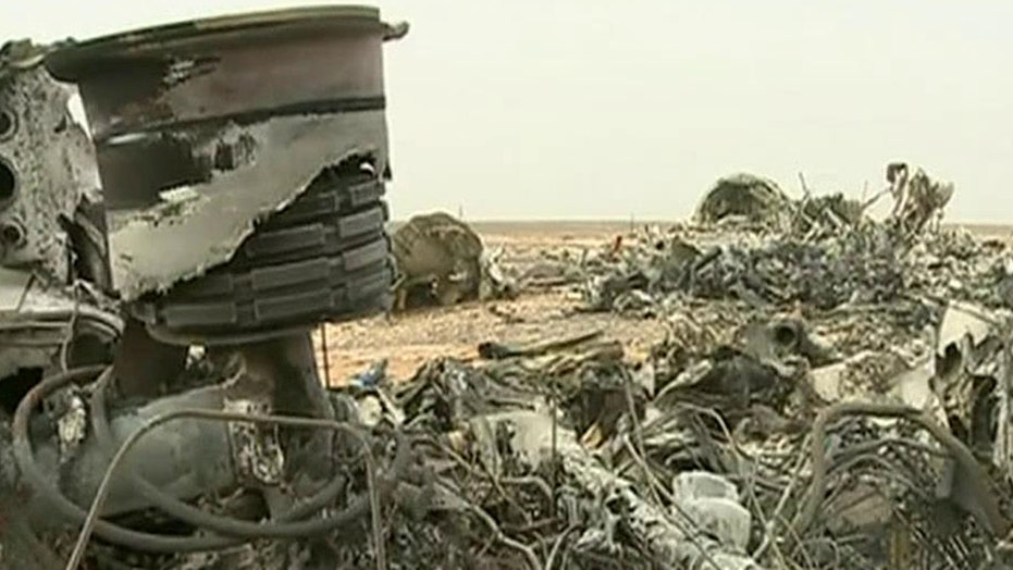 Sources believe time bomb may have brought down Russian jet