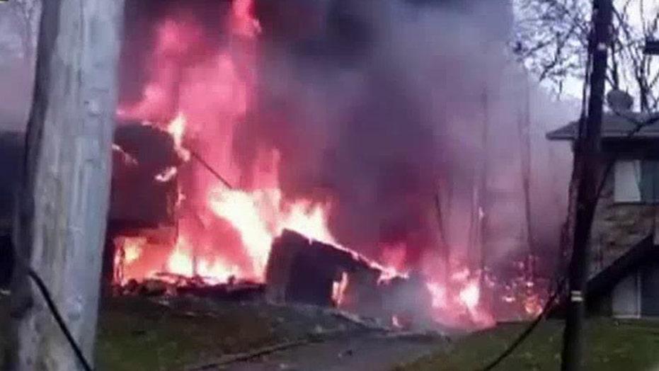 Snapchat video captures moment of Ohio plane crash