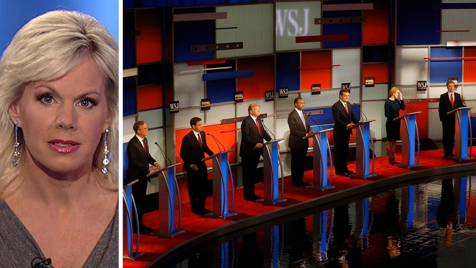 Gretchen's Take: FBN debate was about candidates, policies