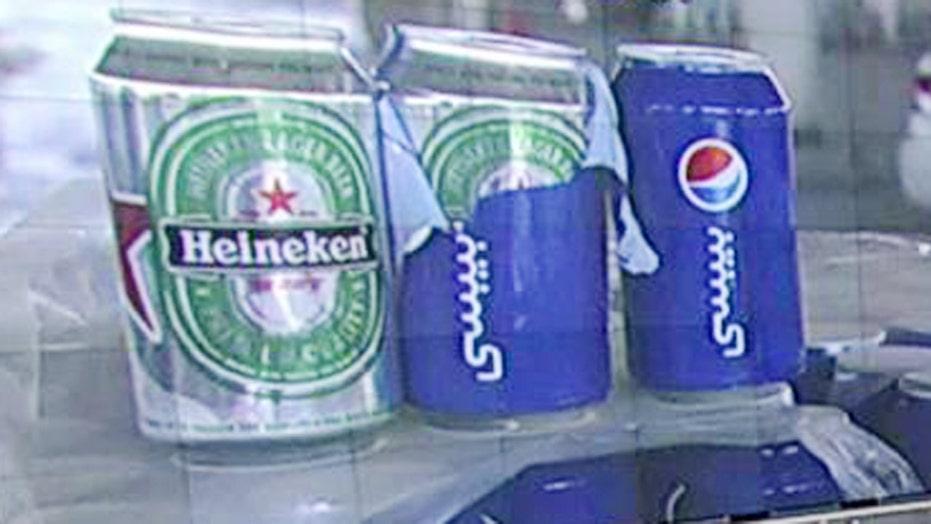Smugglers caught sneaking Heineken into Saudi Arabia