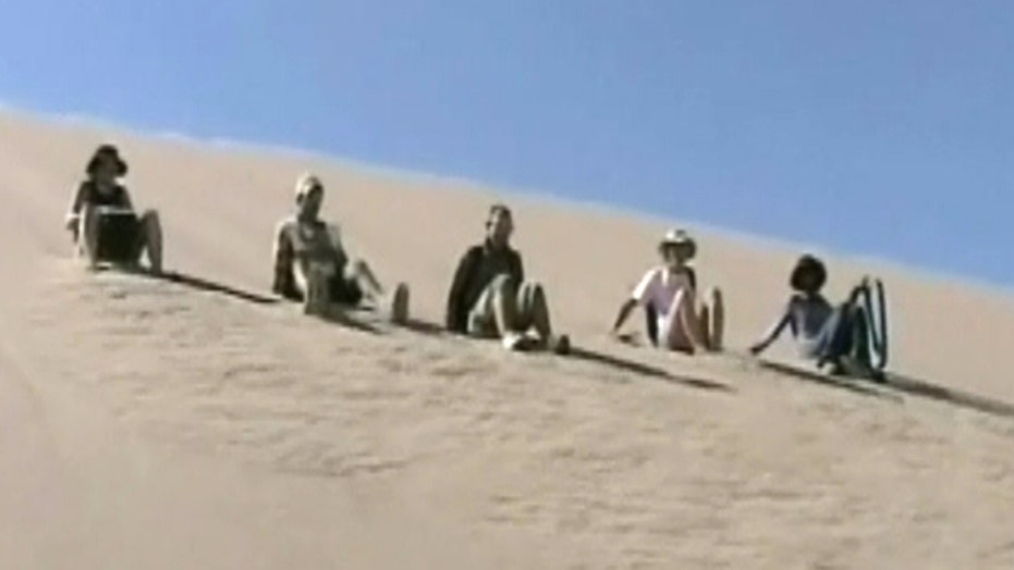 Watch and listen: Sand dunes create booming sounds