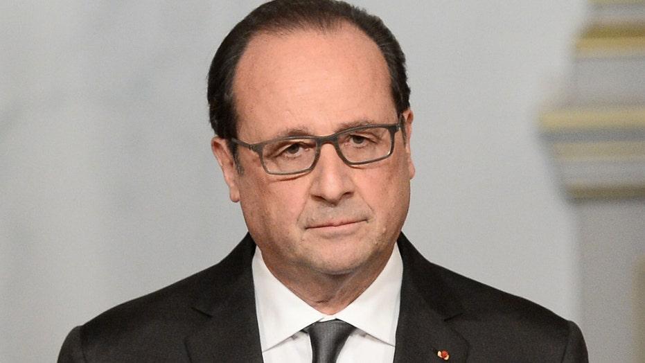 President Hollande calls Paris attacks an 'act of war'