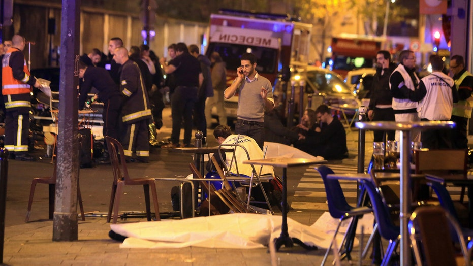 Terror in Paris: A timeline of the attacks as they unfolded