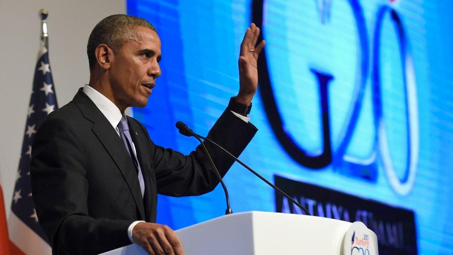 Obama addresses Paris attack, war on ISIS at G20 summit