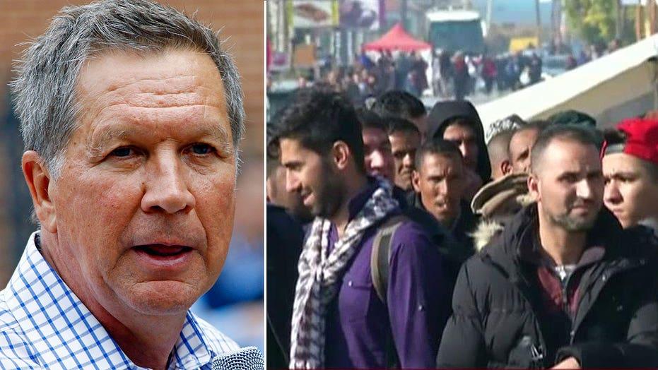 Gov. Kasich on decision to refuse Syrian refugees