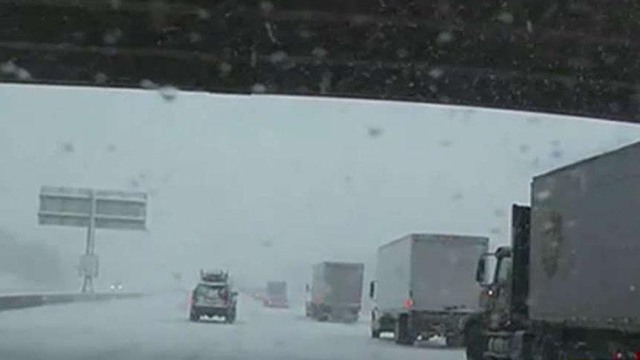 Massive winter storm sweeps through western US