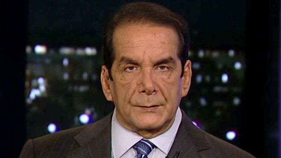 Charles Krauthammer said Tuesday