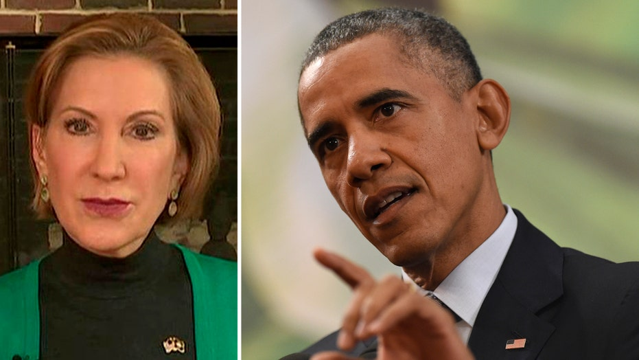Fiorina: 'Outrageous' for Obama to attack GOP on refugees