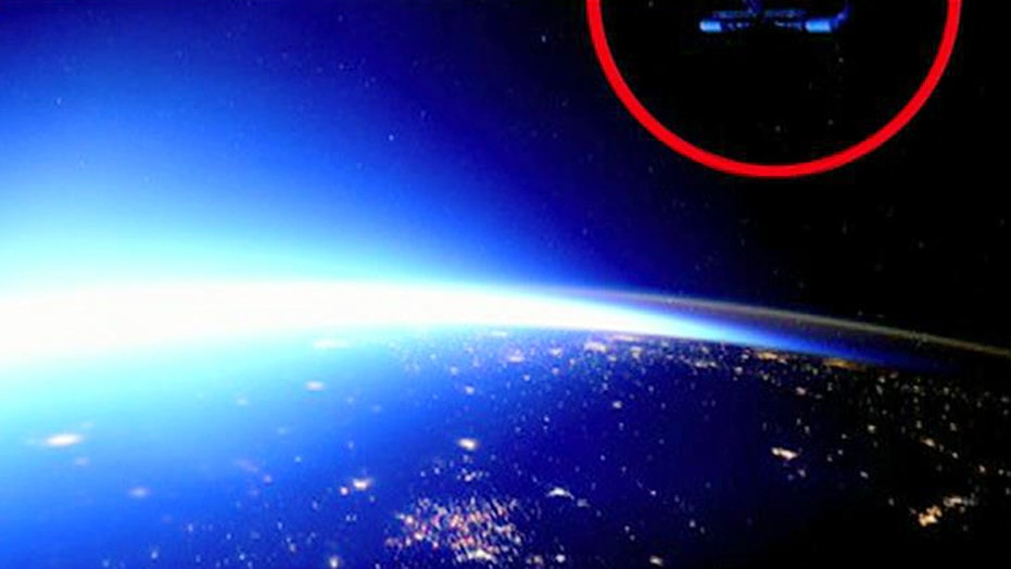UFO spotted in photo from International Space Station?