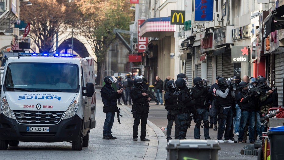 Police in Paris searching for a ninth possible attacker