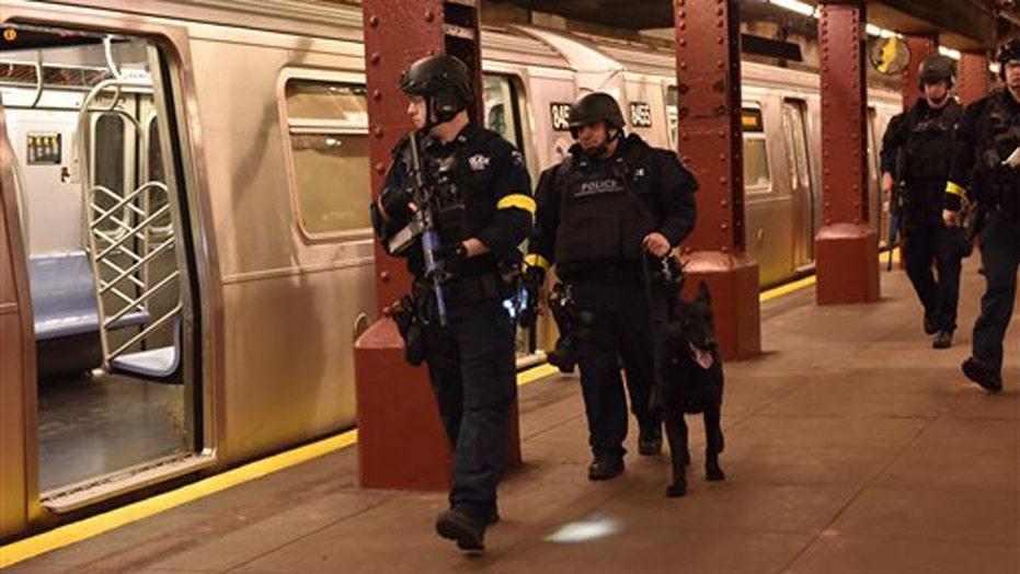 NYPD conducts anti-terror drills