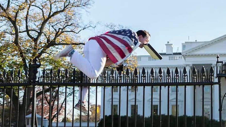 Man detained after jumping over White House fence