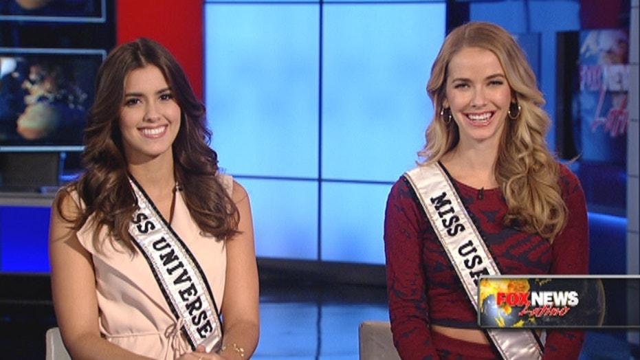 Miss Universe, Miss USA talk Trump & crowned life