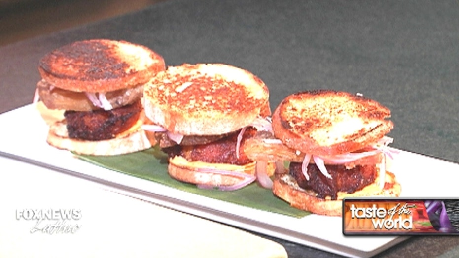 Your New Year's treat: 'Chicharron' pork sliders
