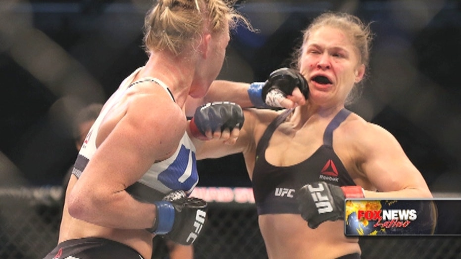 Rousey v. Holm rematch is in the works