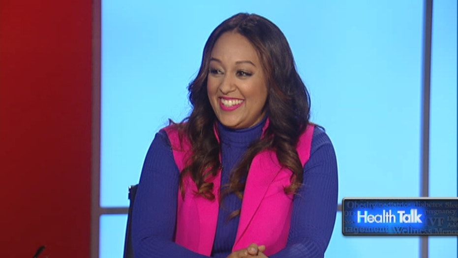 Actress Tia Mowry shares her tips for avoiding the flu