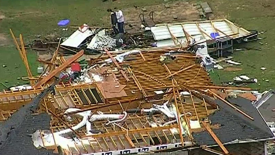 Tornadoes damage homes and businesses in Texas