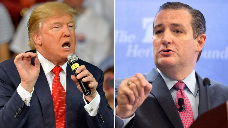 Trump, Cruz battle on Twitter amid GOP debate